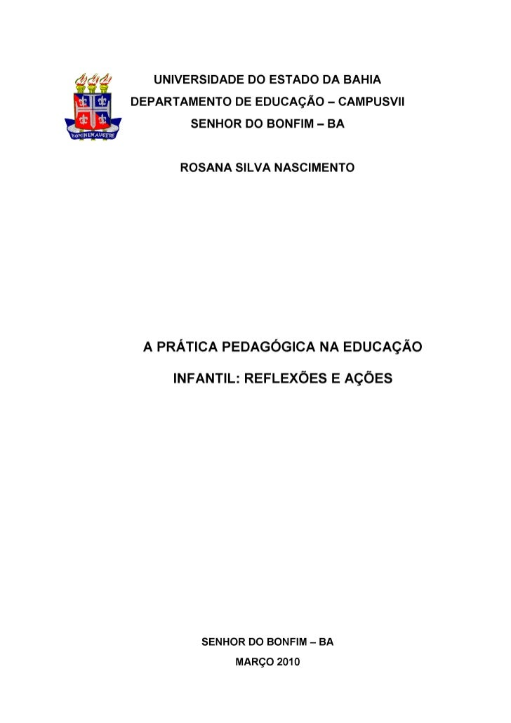 Monografia Rosana Pedagogia 2010