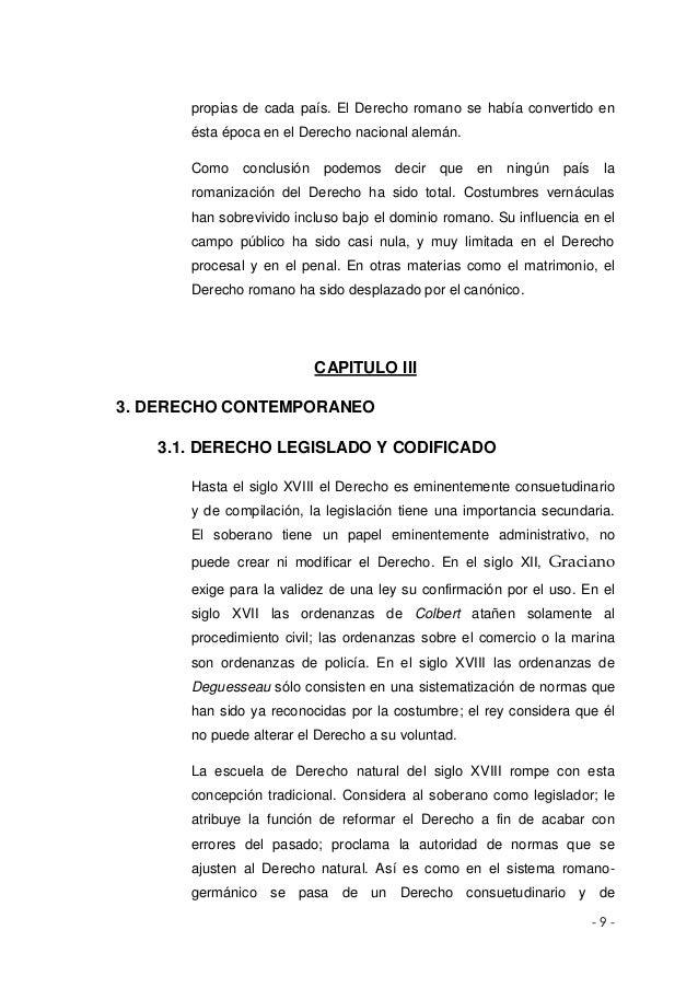 Matrimonio Romano Conclusion : Monografia sistema juridico contemporaneo
