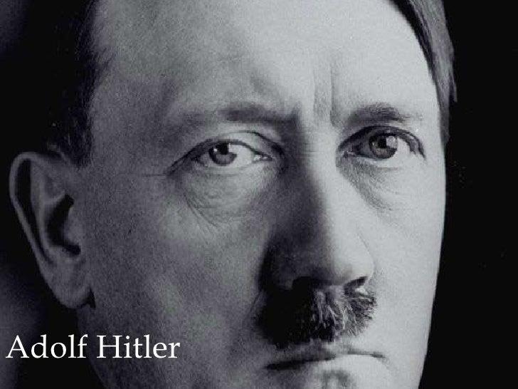 Adolf Hitler<br />