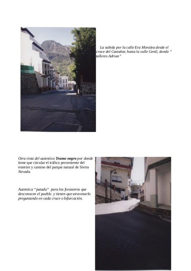 Desde el restaurante los Olivillos hasta el arroyo de la Grea *en el plano 2.2.2( determinaciones en suelo urbano),NNSS de...