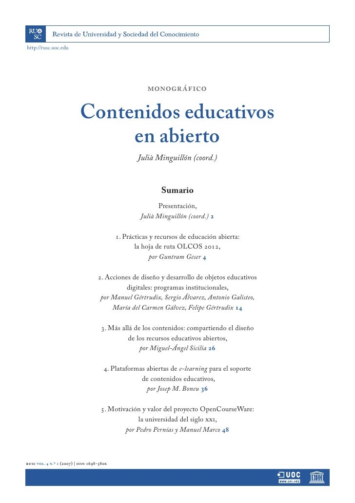 http://rusc.uoc.edu                                                            monográfico                             Con...