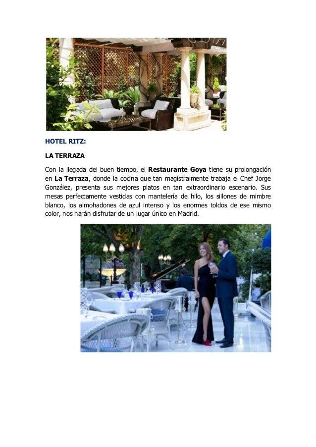 Terrazas Y Jardines En Los Mejores Hoteles De Madrid