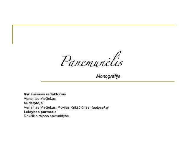 MonografijaVyriausiasis redaktoriusVenantas MačiekusSudarytojaiVenantas Mačiekus, Povilas Krikščiūnas (tautosaka)Leidybos...