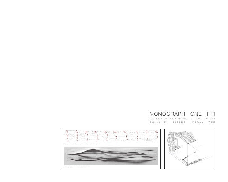 MONOGRAPH ONE [1]                                                                             SELECTED ACADEMIC PROJECTS B...