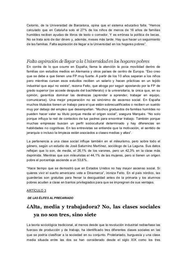 Monográfico Estratificación Monográfico Estratificación Social Iwf6q
