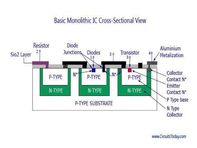 monolithic implementation of parasitic elementsMonolithic Ic #13