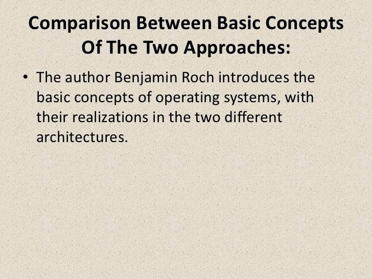 Monolithic kernel vs. Microkernel