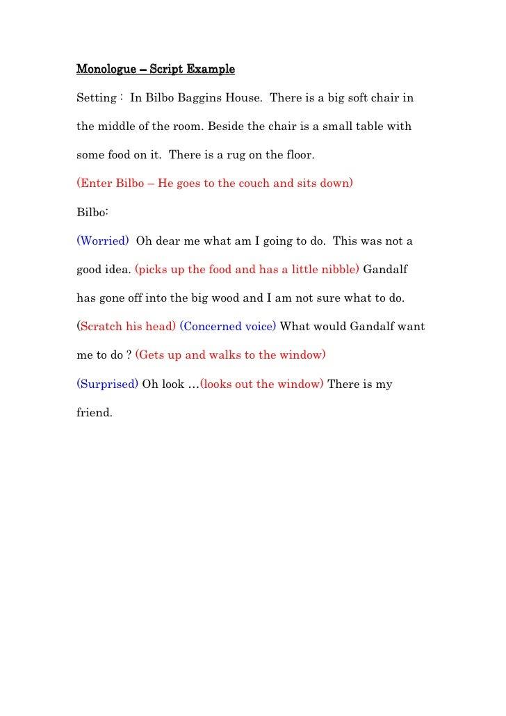 Short Teen Monologue 12