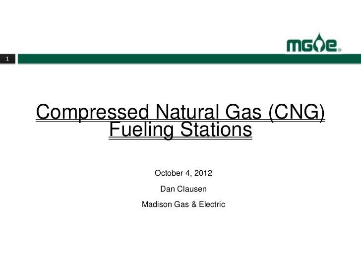 Compressed Natural Gas (CNG) Fueling Stations