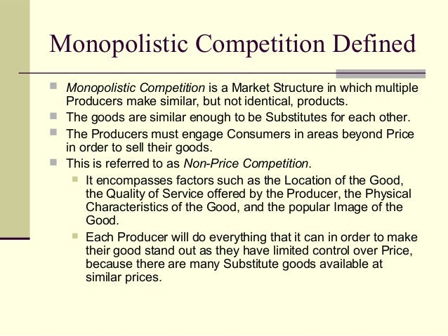 characteristics of monopolistic competition pdf