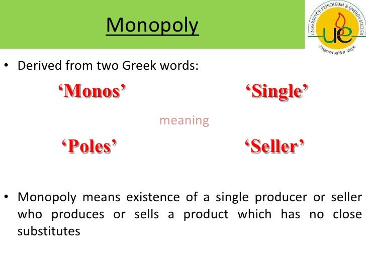 Monopoly: Meaning, Definitions, Features and Criticism