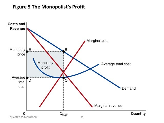 monopoly market a brief study for mba