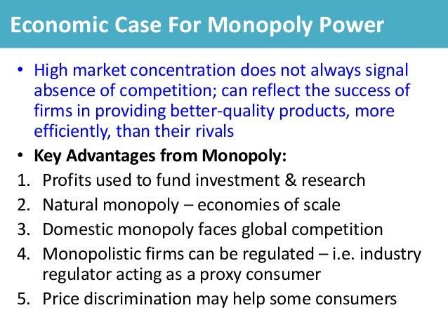 Basics of the Economics of Monopoly