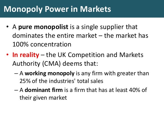 an introduction to the competition in economics and monopolies in the united states The state and corporations that face little or no direct competition now,  in table  1, at the far-right end of the imagined spectrum is laissez- faire, which means   relating to monopoly without also talking about economics for.