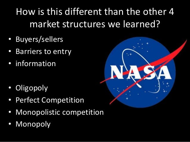 Types of market structure