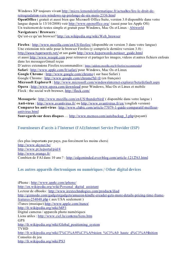 Windows XP toujours vivant http://micro.lemondeinformatique.fr/actualies/lire-le-droit-de-                                ...