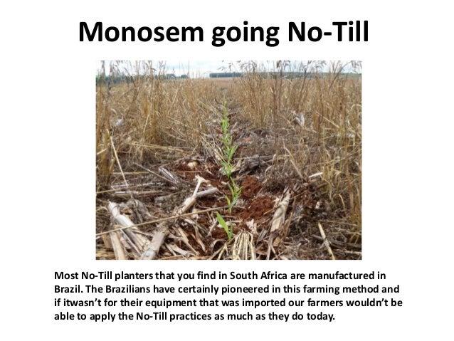 Monosem No Till Planter