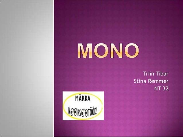 Triin TibarStina Remmer         NT 32