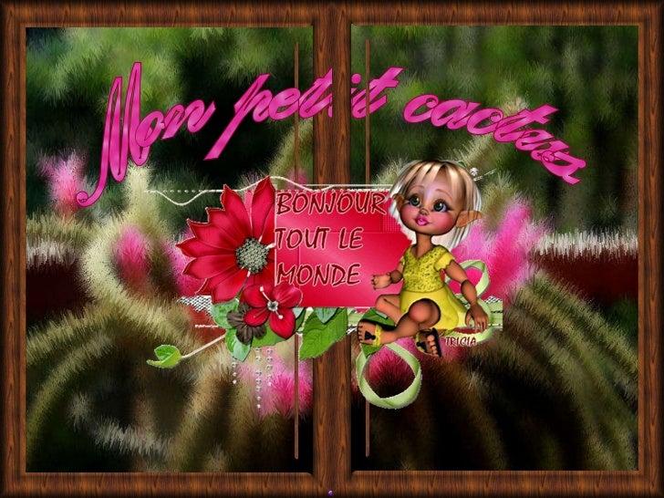 Avancement automatique Mon petit cactus Hymne à l'amitié – Celine Dion