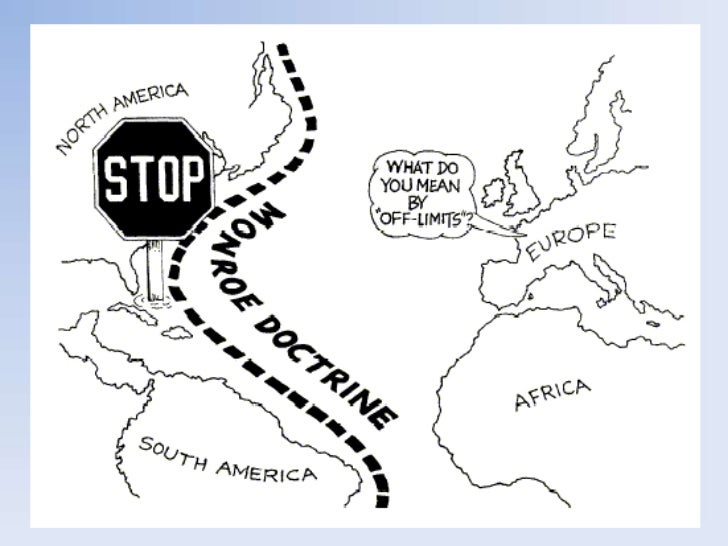 An analysis of the monroe doctrine in the united states