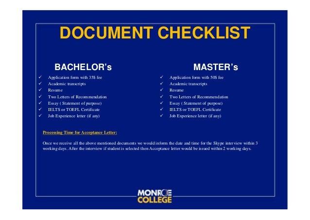 monroe college essay requirements Mba resume tips and requirements mba essay tips & samples mba essay tips mba essay samples by school  dartmouth college wharton mba.
