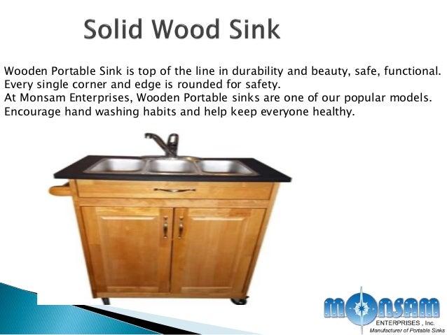 Modern kitchen sinks rent portable sink mobile kitchen medical 6 wooden portable sink workwithnaturefo