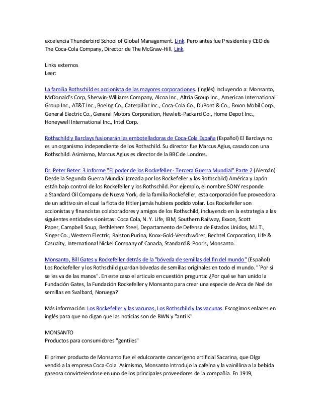 Monsanto es una corporaci n jud a for Castellano electric motors inc