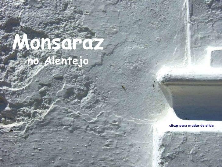 Monsaraz no Alentejo clicar para mudar de slide