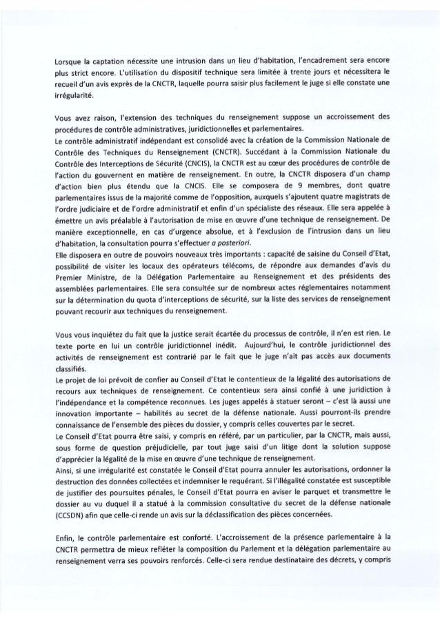 7 avril 2015 : Emeric Bréhier député PS de la 10e circonscription de Seine-et-Marne soutiens le #PJLRenseignement  Slide 3