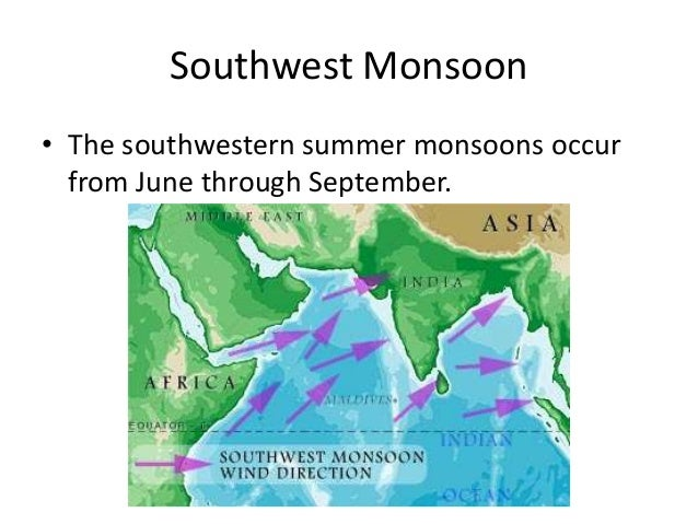Northeast Monsoon • What is the difference between southwest and northeast monsoons? • What processes are behind the north...