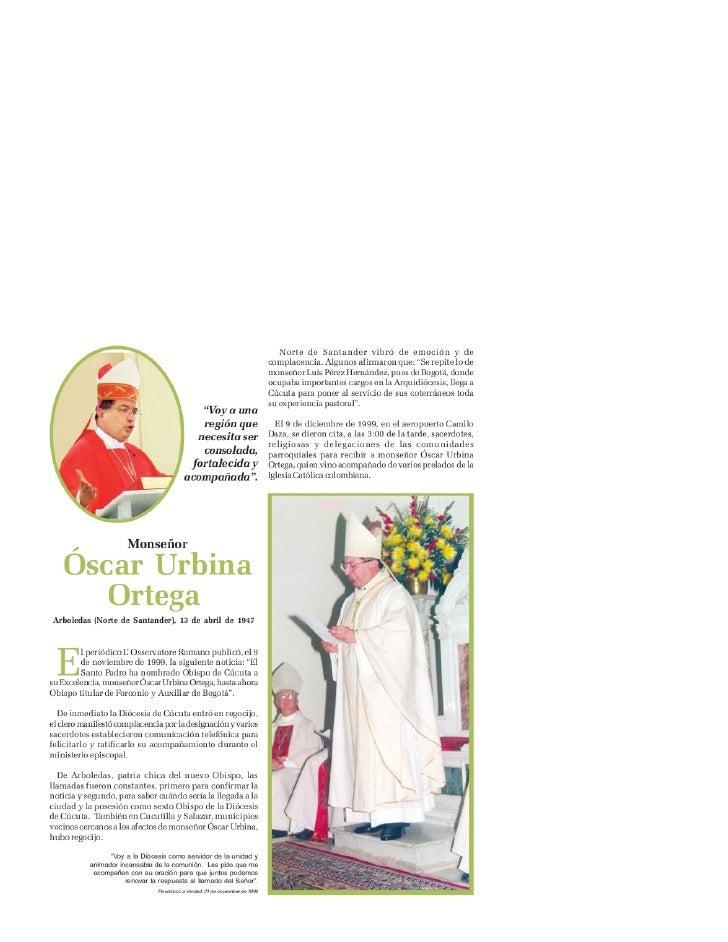 Mons Oscar Urbina Ortega