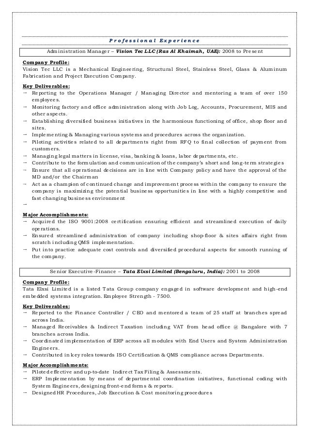 administration manager  management executive
