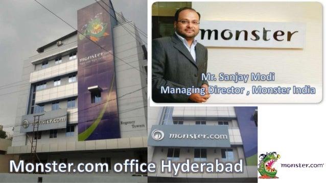 Monster.com presentation Slide 3