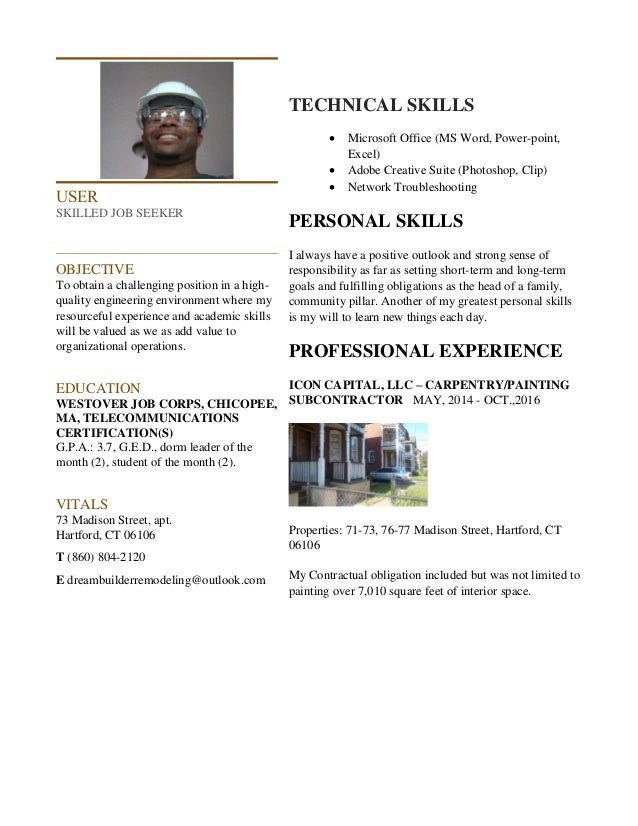 build your resume outside of the box
