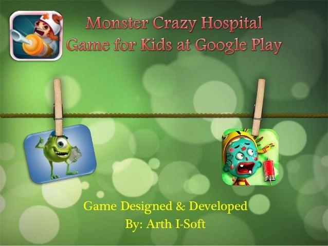 Game Designed & Developed By: Arth I-Soft