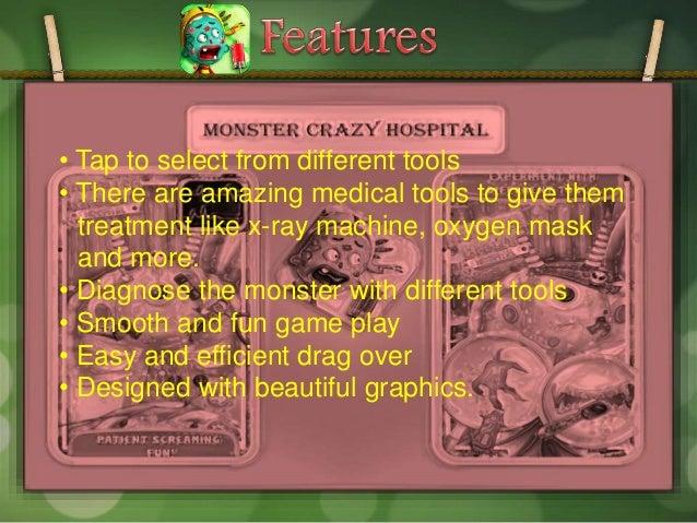 Monster crazy hospital game for kids at google play Slide 3