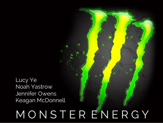 ad campaign for monster energy drink