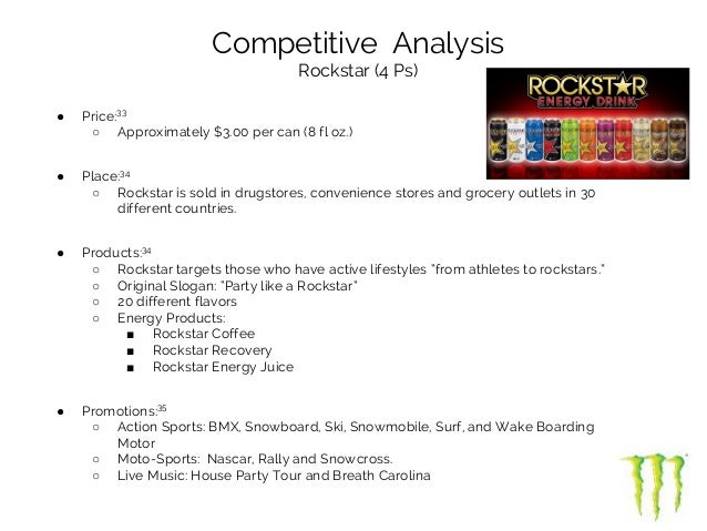 energy drinks customer analysis essay 2010-4-20  industry analysis: soft drinks  sports drinks and energy drinks are also expected to increase in growth as competitors start adopting new product lines 2.