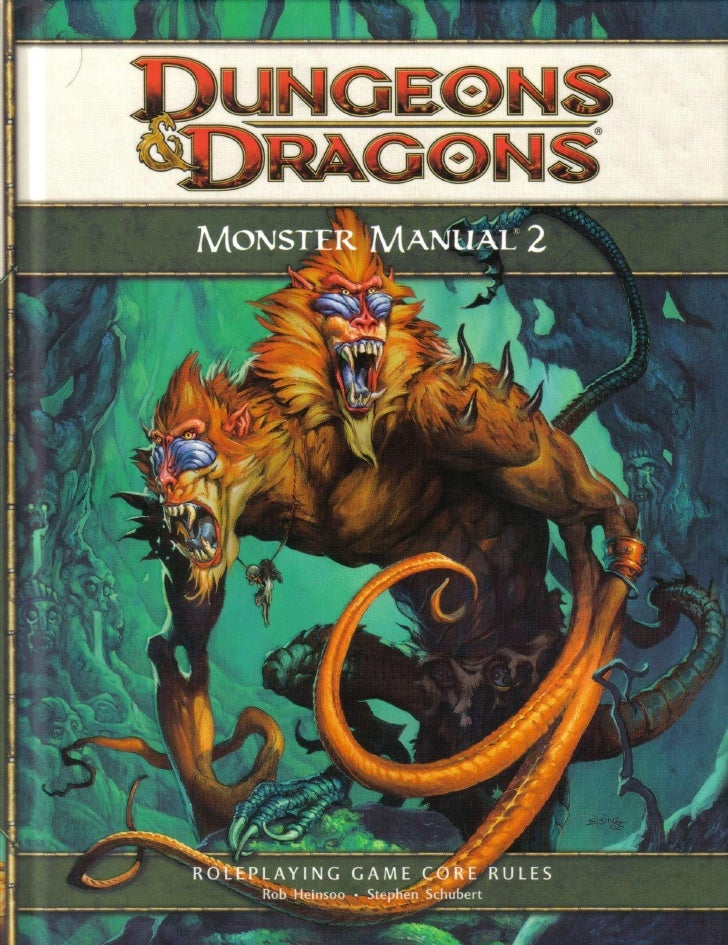 Monster Manual 2