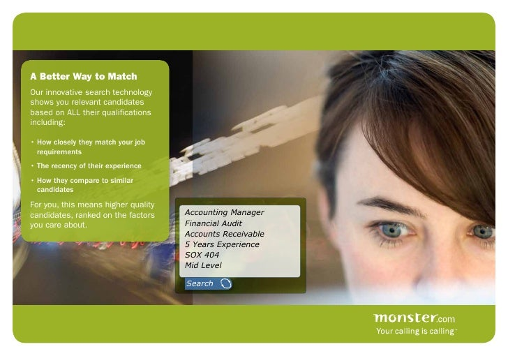 monster power resume search brochure call oct09