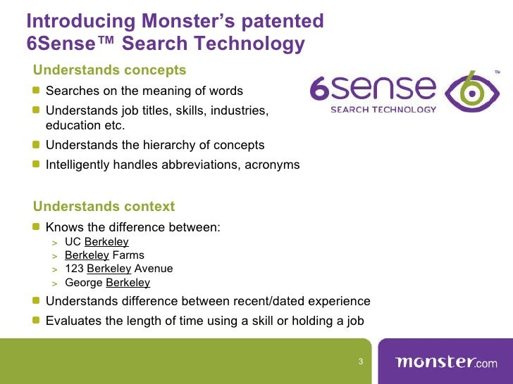 3. Introducing Monsteru0027s ...  Upload Resume To Monster