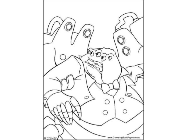 monsters inc colouring pages and kids colouring activities - Kids Colouring Activities