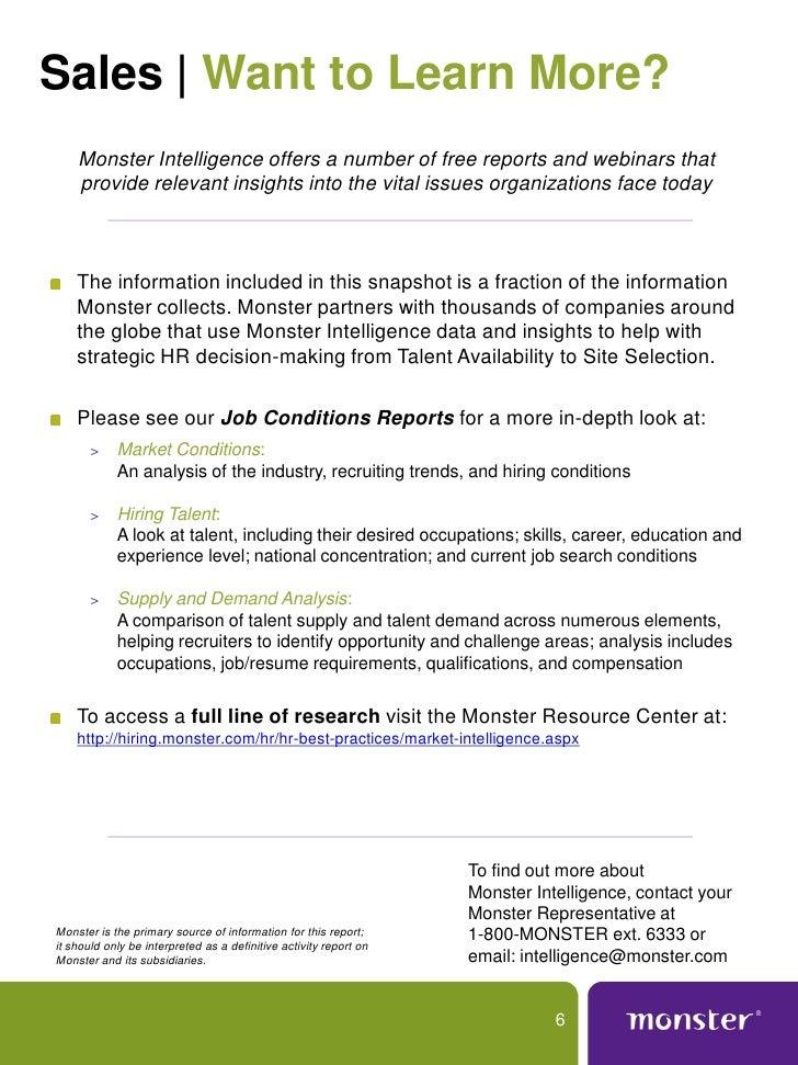 6 - Job Market 2011 Current Future Job Market Trends