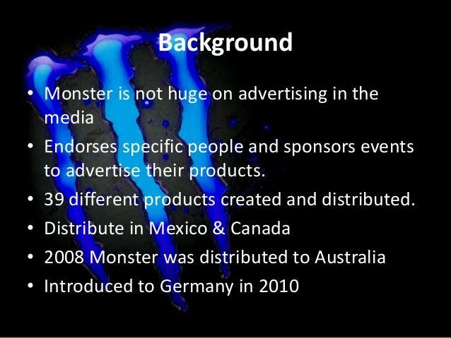 Monster SWOT Analysis Slide 3