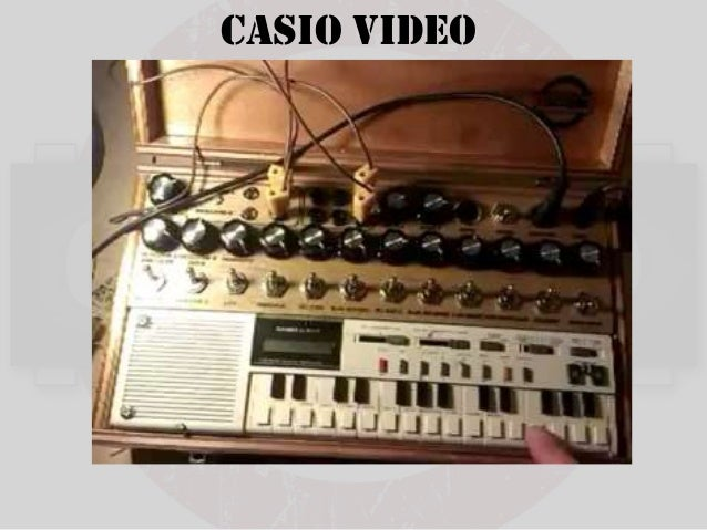 Monstrous Casio Keyboard Circuit Bend Project