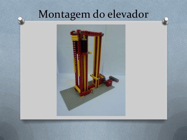 Montagem do elevador<br />
