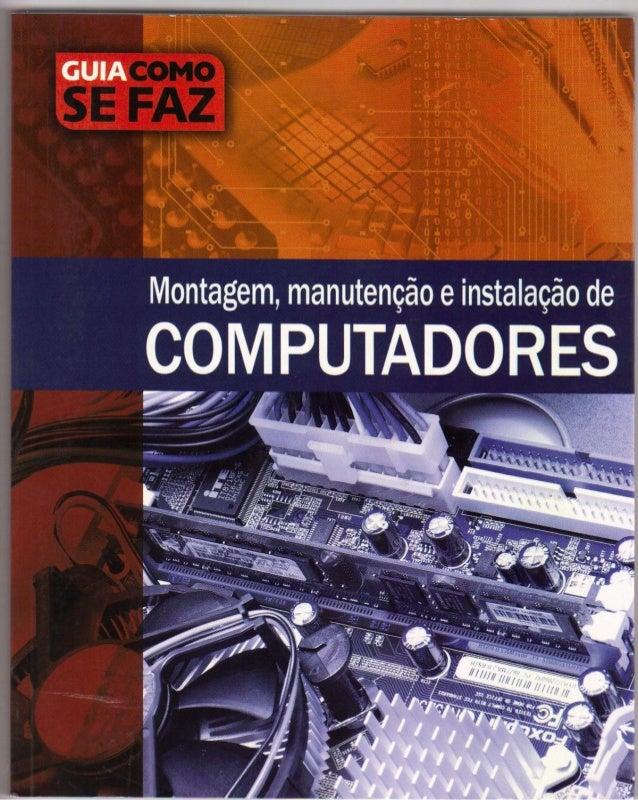 Montagem manutencao de computadores