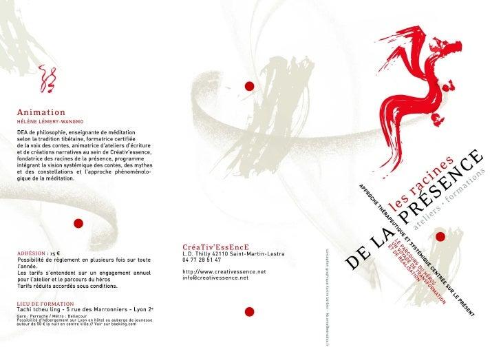Formations et ateliers 2012-2013