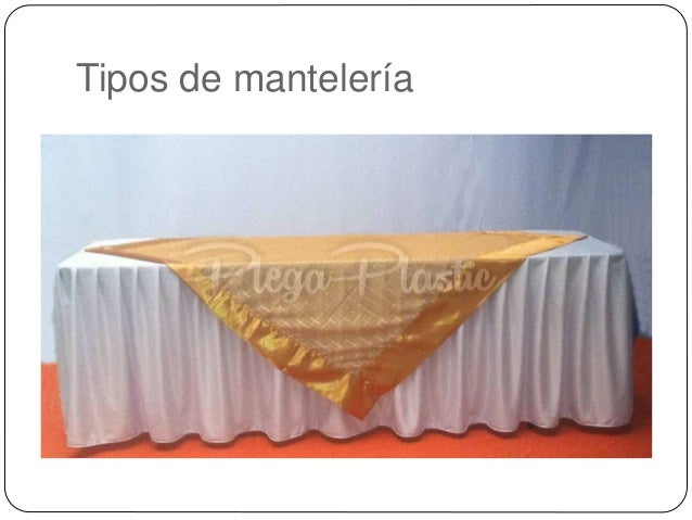Montaje de mesa - Tipos de manteles ...