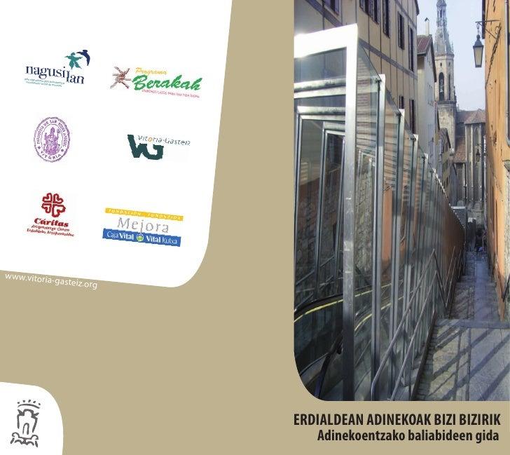 www.vitoria            -gasteiz.org                               ERDIALDEAN ADINEKOAKTIENEN VIDA                         ...